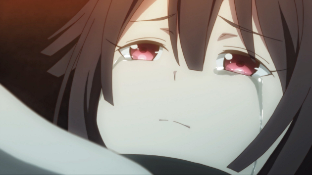 It's not a good sign when the sudden appearance of a crying imouto is the best your anime has to offer.